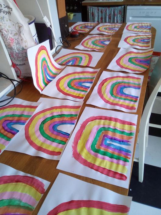 Poppy's beautiful rainbows