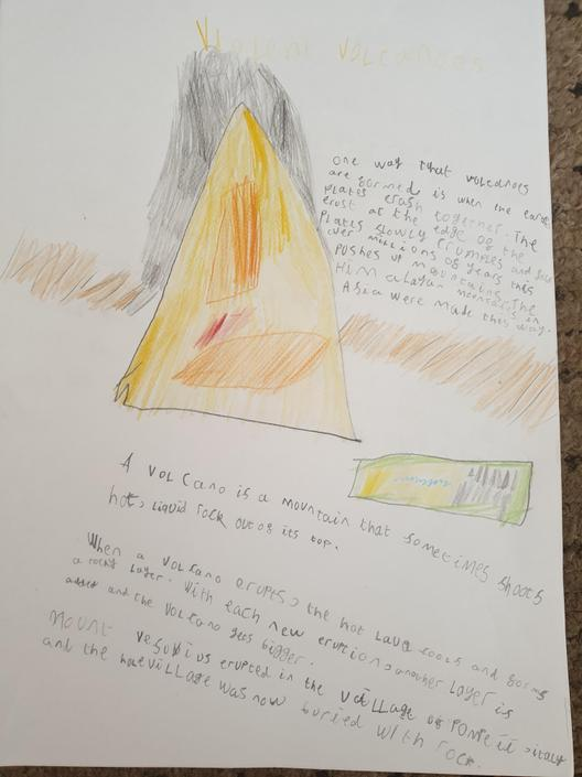 Volcano Fact File - by Luca