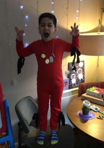 Alex as Red Dragon