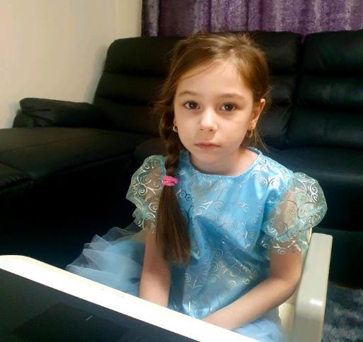 Natalia as Elsa