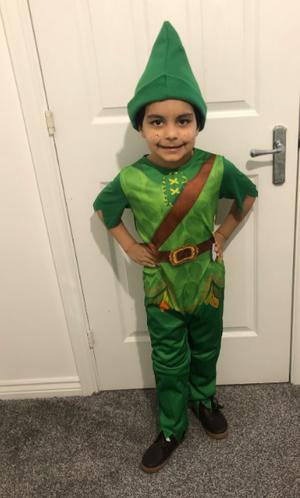 Zaeem as Peter Pan