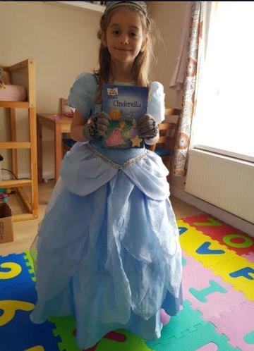 Emilia as Cinderella
