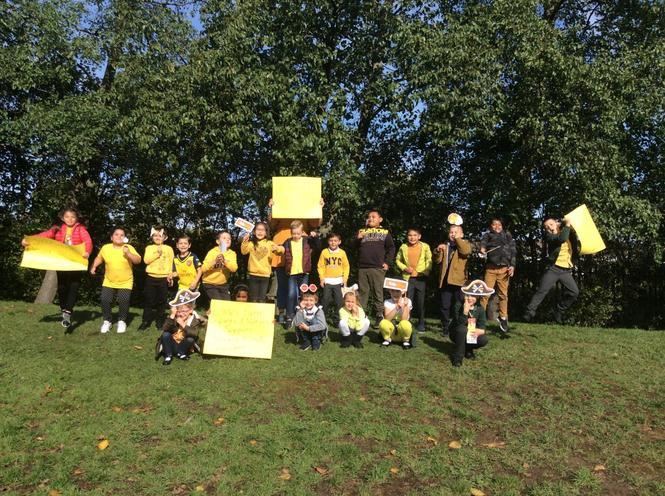 Yellow Class in Yellow!