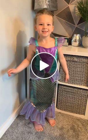 Lexi as The Little Mermaid