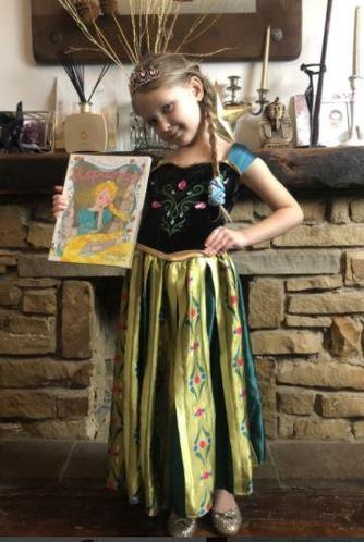Leila as Rapunzel