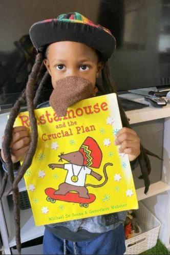 Shaedon as Rasta Mouse