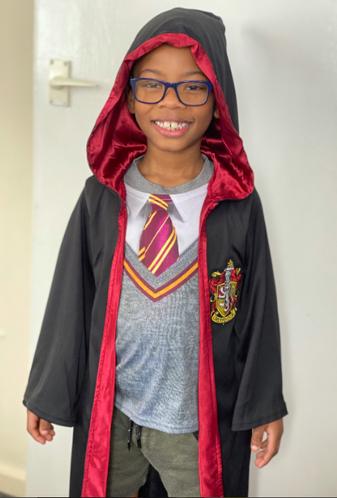 Zahir as Harry Potter