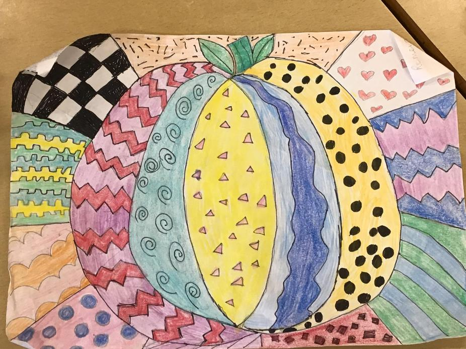 Romero Britto inspired artwork by Ruby