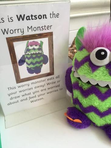 Watson the Worry Monster!