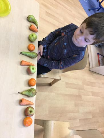 Remy making repeating patterns.