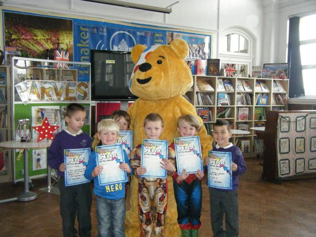 Pudsey with our Stars of the Week!