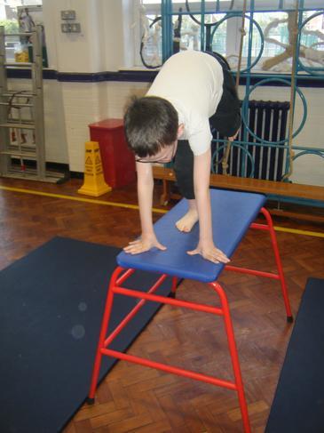 Balancing on the high box