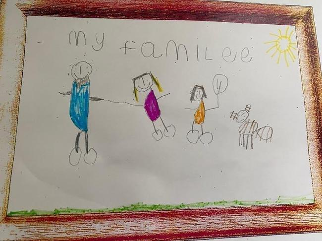 What a lovely drawing - things that make us happy