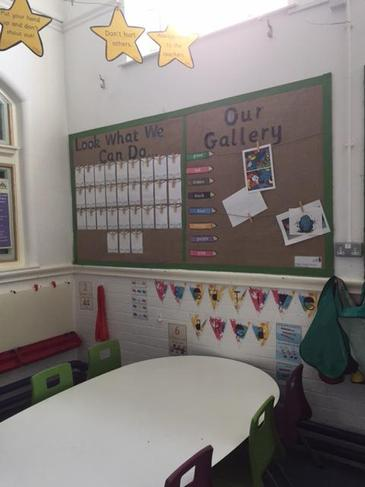 Our Gallery display