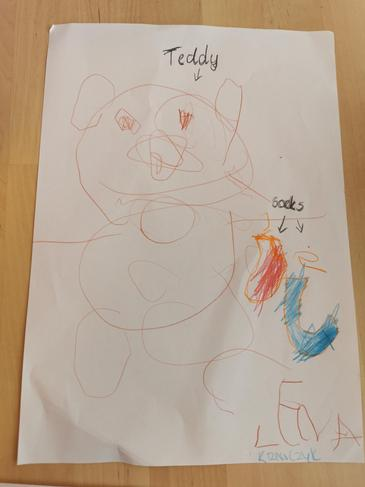 A fantastic picture Lena! I can see '2' socks.
