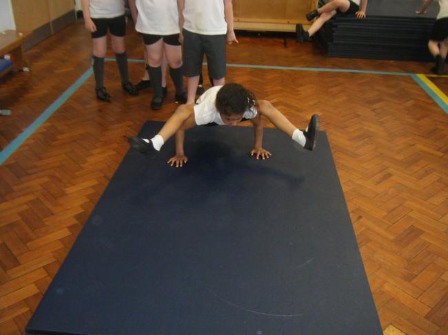 Wow! Lots of upper body strength