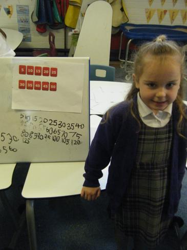 Counting in 5's independently