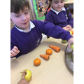 Many pattern combination were produced by all the children.