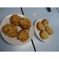 We made these delicious scones!