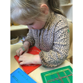 We used small peg boards and elastic band to make a small houses for animals.