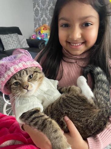 Children's mental health week - 'Dressing my cat up makes me happy!!'