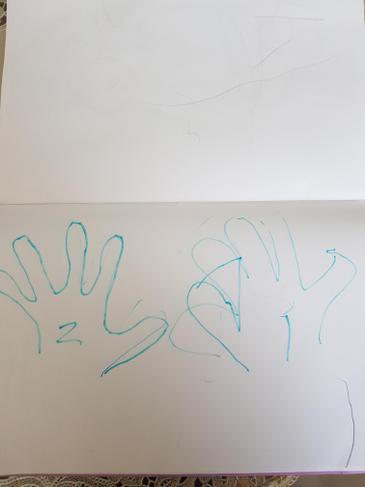 Zidan's '2' hands!