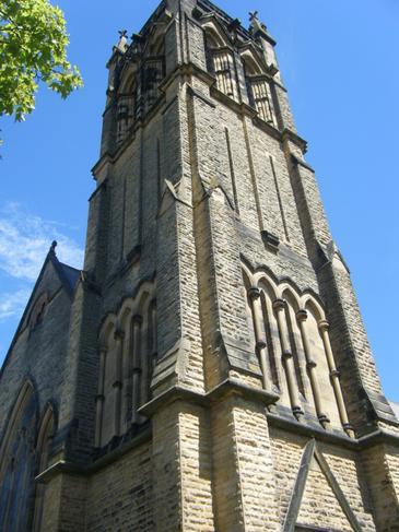 'I wonder how tall the church is?'