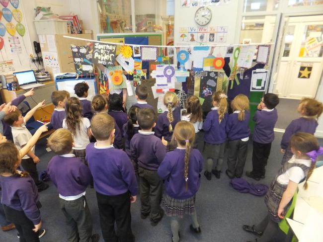 Year 1 were amazed!
