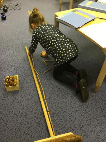 Measuring without a ruler