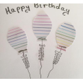Pencil page used to create balloons.