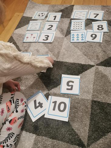 Lena K showing her excellent counting.