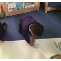 """Drawing and """"writing"""" favourite parts of the story"""