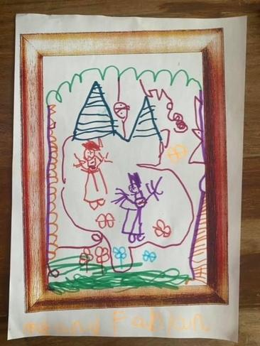 Children's mental health week - 'playing with my friend makes me happy'