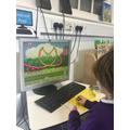 Using ICT to identify and order numbers.