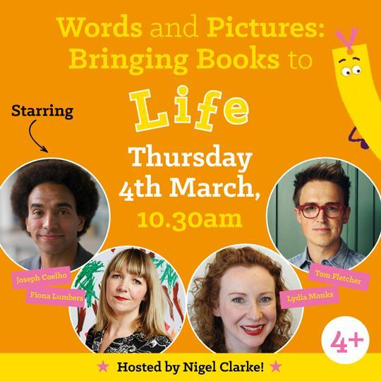 Thursday 4th March, 10.30am – World Book Day special – Bringing Reading to Life!