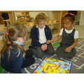 We can take turns and play maths games.