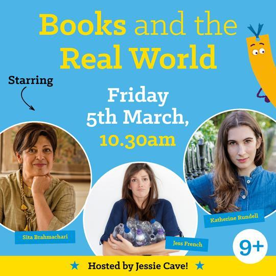 Friday 5th March, 10.30am  – Books and the Real World