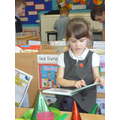We can read and enjoy books.