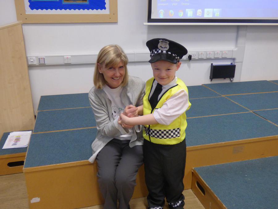 Mrs Ritchie is under arrest!!