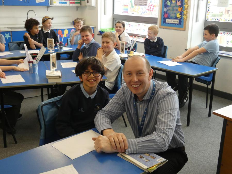 Music Teacher - Mr Parkin