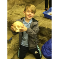 Leon enjoying his archeology experience!
