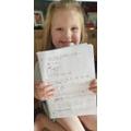 Olivia's instructions