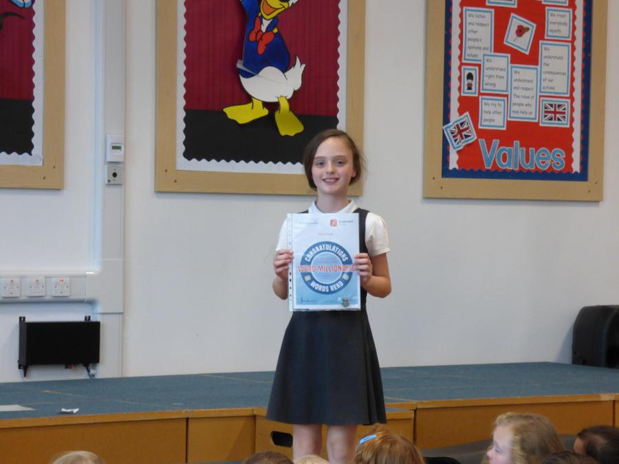 2,500,000 words Read in Accelerated Reader