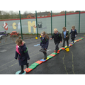 We can make obstacle courses.