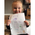 Olivia's brilliant bossy verbs poster