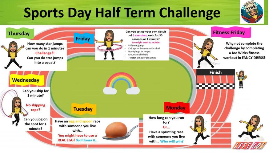 Sports Day Half-Term