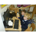 We are developing our ICT skills.