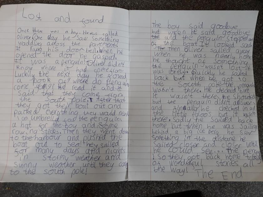 Well done Abi! What a great story.