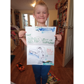 A super poster about sea creatures.