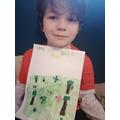 Zachary's habitat poster